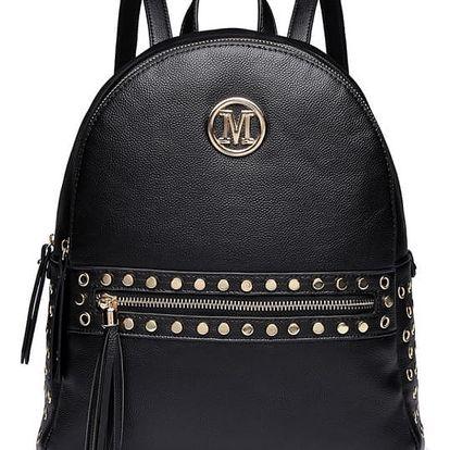 Dámský černý batoh Cherry 6807