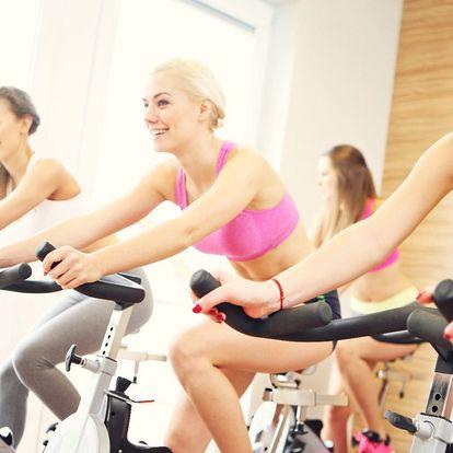 Lekce spinningu v Daily Fitness Olgy Šípkové