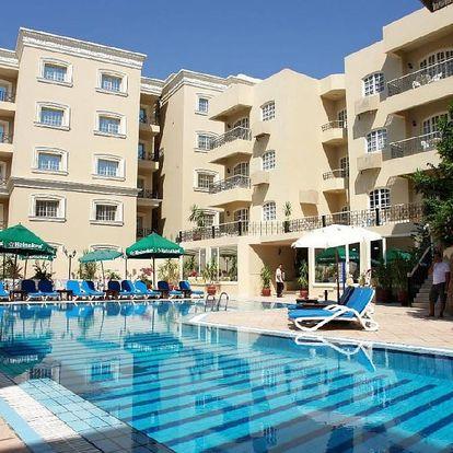 Egypt - Hurghada na 8 dní, all inclusive s dopravou letecky z Prahy nebo Ostravy 300 m od pláže