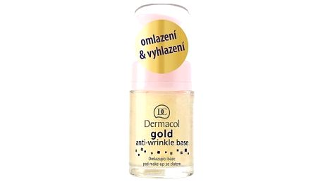 Dermacol Gold Anti-Wrinkle 15 ml podklad pod makeup pro ženy