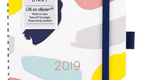 Busy B Diář 2019 To Do Fashion, multi barva, papír