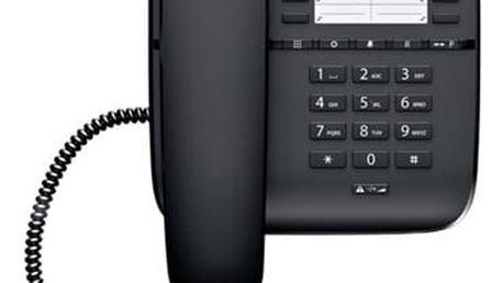Domácí telefon Siemens Gigaset DA510 černý (S30054-S6530-R601)