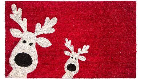 Trade Concept Kokosová rohožka Sobi červená, 43 x 73 cm