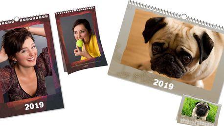 Fotokalendář z vašich fotografií ve formátu A3