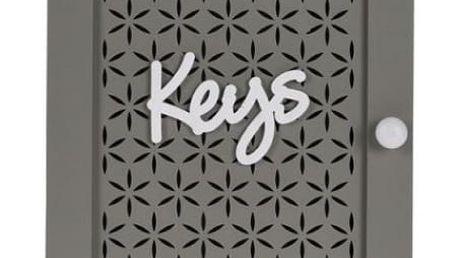 Dekorativní skříňka na klíče 28x20x7cm