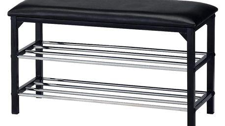 BAutronic botník / taburet 83168-13 BK, černá