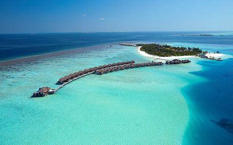 Maledivy - South Malé Atoll na 10 dní, snídaně s dopravou letecky z Prahy přímo na pláži