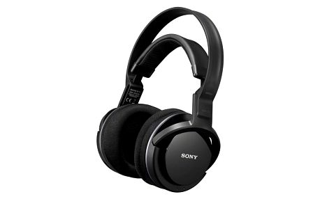Sluchátka Sony MDR-RF855RK černá (MDRRF855RK.EU8)