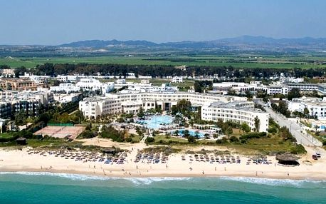 Tunisko - Yasmine Hammamet na 8 až 12 dní, all inclusive s dopravou letecky z Prahy přímo na pláži