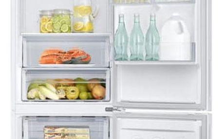Chladnička s mrazničkou Samsung RB37J500MWW/EF bílá
