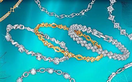 Okouzlující náramky se třpytivými krystaly