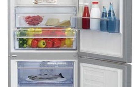 Chladnička s mrazničkou Beko RCNA 365 E30ZX nerez