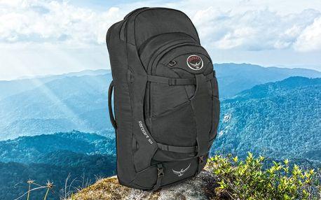 Cestovní batoh: objem 52 l nebo 55 l