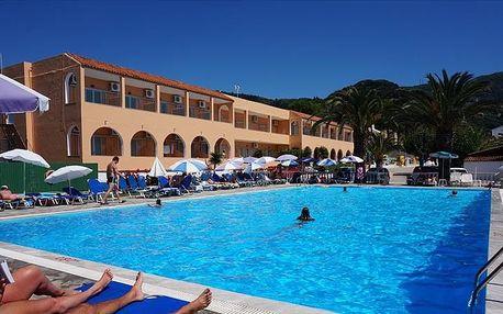 Řecko - Korfu na 7 dní, all inclusive nebo polopenze s dopravou letecky z Prahy 30 m od pláže