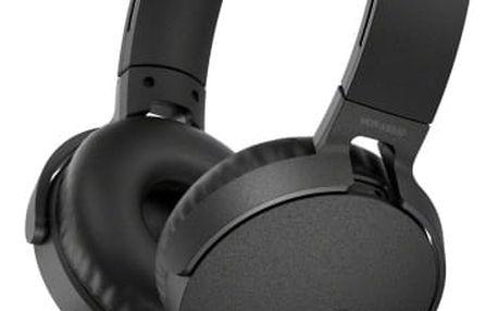 Sluchátka Sony MDR-XB550AP Extra Bass™ černá (MDRXB550APB.CE7)