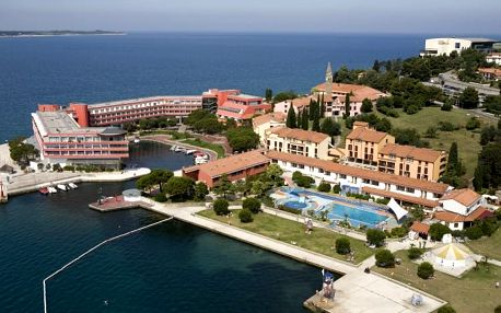 Slovinsko - Portorož na 8 dní, polopenze s dopravou vlastní přímo na pláži