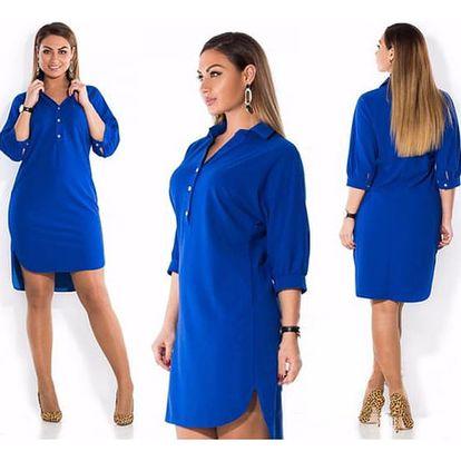 Dámské šaty Slanie plus size - 4 barvy