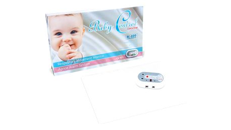 BABY Control Digital BC-210 se dvěma senzorovými podložkami - monitor dechu
