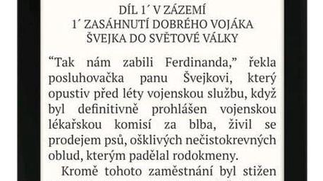 Čtečka e-knih Pocket Book 627 Touch Lux 4 černá (PB627-H-WW)