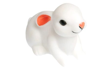 miniroom Noční lampička Baby Bunny, bílá barva, plast
