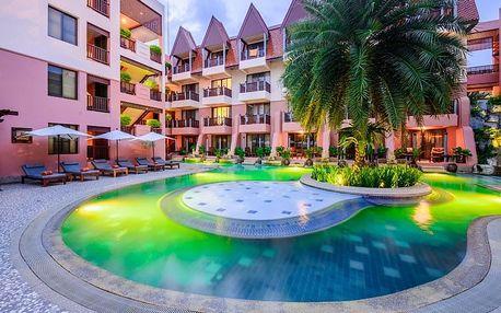 Thajsko - Phuket na 10 dní, polopenze s dopravou letecky z Prahy 50 m od pláže