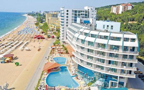 Bulharsko - Zlaté Písky na 8 dní, all inclusive s dopravou letecky z Prahy přímo na pláži