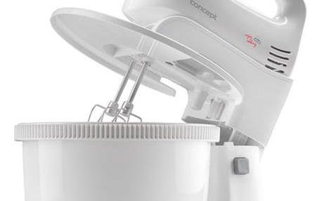 Ruční šlehač s mísou Concept SR3140 bílý