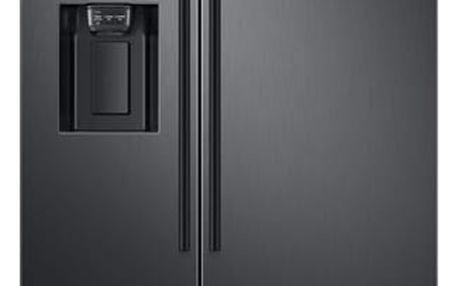 Chladnička s mrazničkou Samsung RS67N8211B1/EF černá