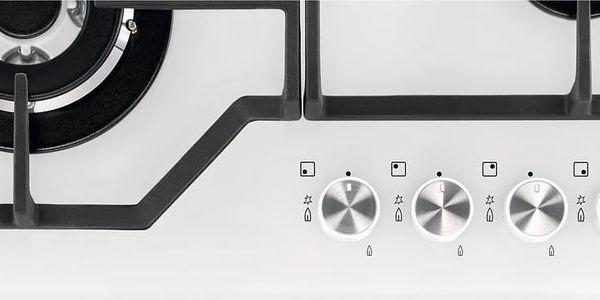 Plynová varná deska Electrolux Inspiration KGG6436W bílá + DOPRAVA ZDARMA4