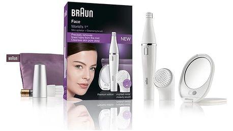 Obličejový epilátor Braun Face 830 bílý
