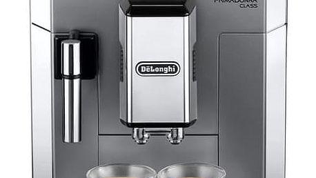 Espresso DeLonghi PrimaDonna ECAM 550.75.MS stříbrné