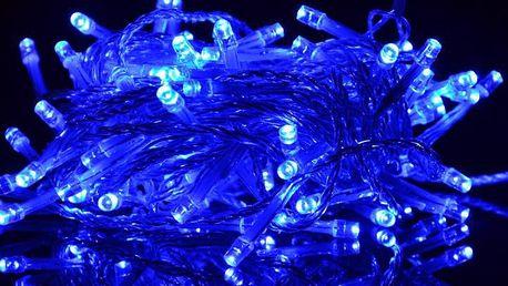 Nexos 802 Vánoční LED osvětlení 9 m - modré, 100 diod