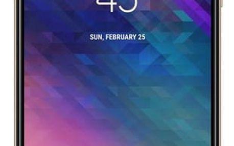 Mobilní telefon Samsung Galaxy A6+ zlatý + dárek (SM-A605FZDNXEZ)