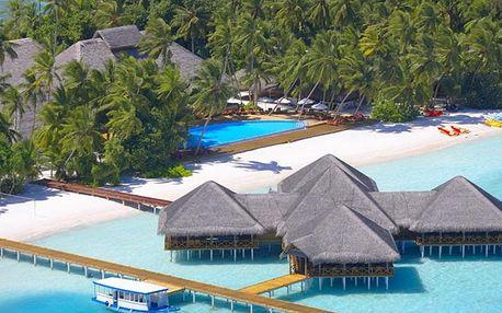 Maledivy - Jižní Atol Male na 9 dní, polopenze s dopravou letecky z Prahy přímo na pláži
