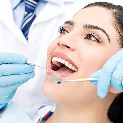 Čisté zuby: Dentální hygiena včetně Air-flow