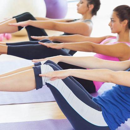 Pilates pro začátečníky i mírně pokročilé