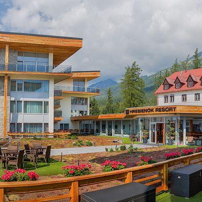 Dovolená v úplně novém Hrebienok Resortu v Tatrách