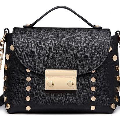 Dámská černá kabelka Loralyn 6813