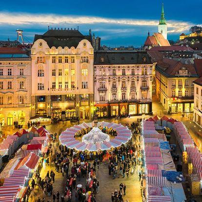 1denní adventní výlet do Bratislavy vč. průvodce
