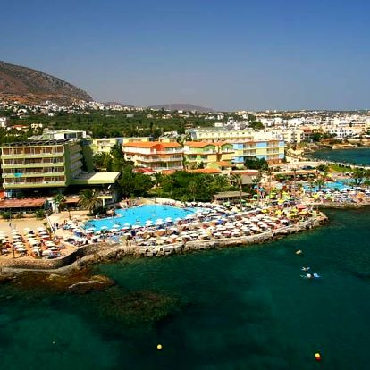 Řecko - Kréta na 8 až 12 dní, all inclusive s dopravou letecky z Prahy přímo na pláži