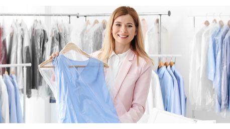 Otevřený voucher na čištění oděvů