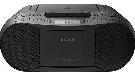 Radiopřijímač s CD Sony CFD-S70B černý