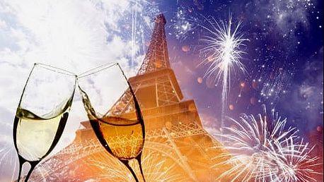 Velkolepý SILVESTR v Paříži na 5 dní s návštěvou zámků Versailles a Fontainebleau