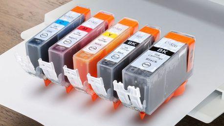 Sady kompatibilních náplní pro tiskárny Canon