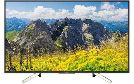 Televize Sony KD-49XF7596 černá