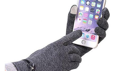 Stylové zimní rukavice pro dámy