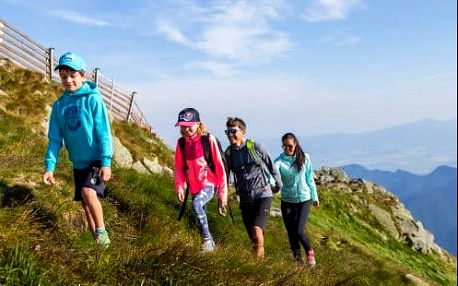 Turistika Nízké Tatry a krásy Liptova v penzionu nedaleko známých termálů. Dítě do 6 r. zdarma