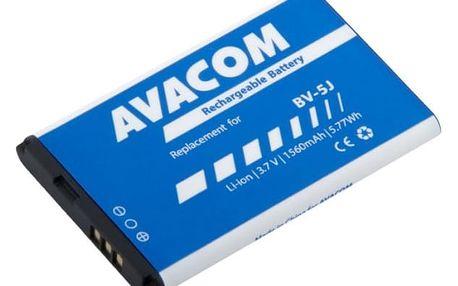 Baterie Avacom pro Microsoft Lumia 435, Li-ion 3,7V 1560mAh (náhrada BV-5J) (GSMI-BV5J-S1560)
