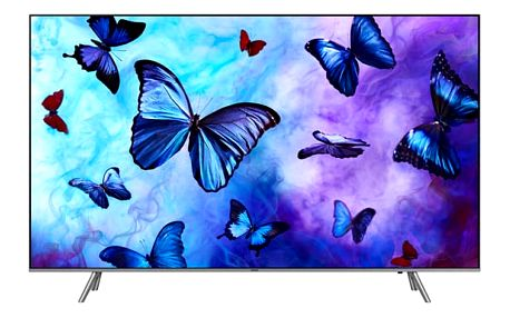 Televize Samsung QE55Q6FN stříbrná