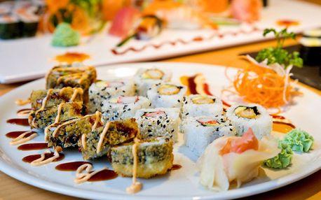 Sushi sety ve skvěle hodnocené restauraci